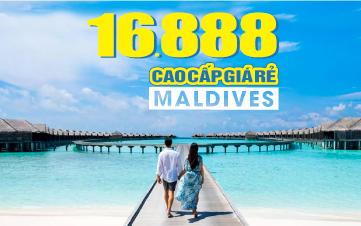 DU LỊCH MALDIVES lễ 2/9 RESORT 4SAO NGOÀI ĐẠI DƯƠNG 4N3Đ