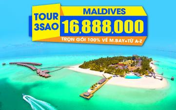Du lịch Maldives - Rẻ Chưa Từng Có
