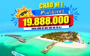 DU LỊCH MALDIVES 5N4Đ