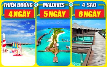 DU LỊCH MALDIVES 4 SAO