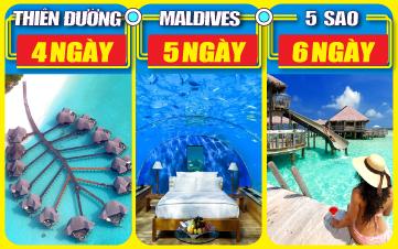 DU LỊCH MALDIVES 5SAO