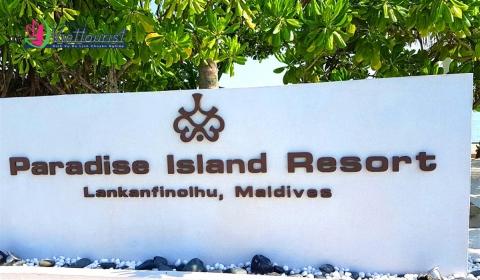 Đến Maldives hãy nghỉ đêm tại Paradise Island Resort