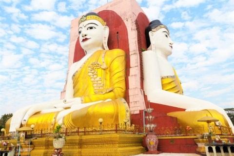 Ghé thăm Chùa Kyaik Pun chiêm ngưỡng Phật tứ diện