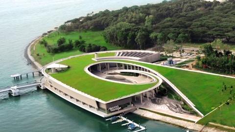 Marina Barrage - Đập nước giữa lòng Singapore