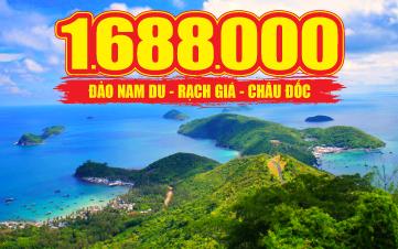 Khám phá quần đảo Nam Du | Rạch Giá | Miếu Bà Chúa Xứ 3N2Đ