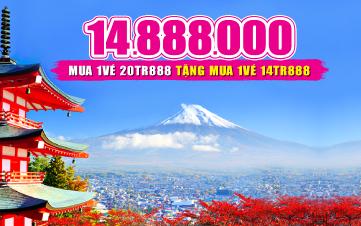 Du Lịch Nhật Bản Osaka - Kyoto - Kobe 5N4Đ