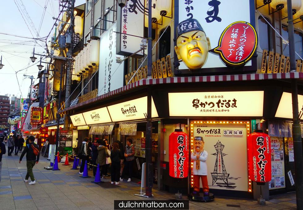 DU LỊCH NHẬT BẢN OSAKA Thiên đường Shopping giá rẻ - 9TR888