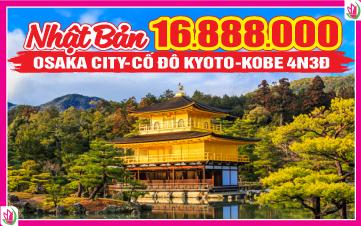 Du Lịch Nhật Bản Osaka - Kyoto - Kobe