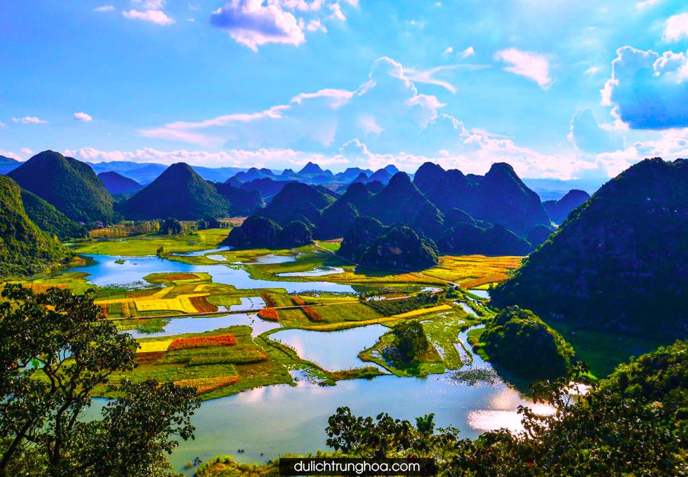 Du lịch Trung Quốc Qúy Châu ngắm nhìn cảnh sắc rực rở