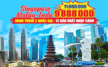 Du lịch SINGAPORE Hành trình 03 Quốc Gia + 12 dấu Xuất Nhập Cảnh+ Trải nghiệm độc đáo INDONESIA+MALAYSIA (4N3Đ) cùng VIETNAM AIRLINE