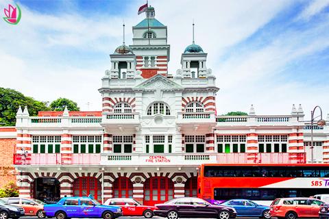 NHỮNG BÀI HỌC THÚ VỊ TƯ BẢO TÀNG CỨU HỎA Ở SINGAPORE CHO CÁC BÉ