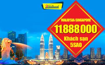 DU LỊCH MALAYSIA + SINGAPORE 6N5Đ - ĐÀ NẴNG