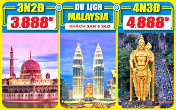 DU LỊCH MALAYSIA 5SAO