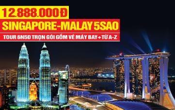 Tour DU LỊCH MALAYSIA | SINGAPORE | MALAYSIA | 6N5D