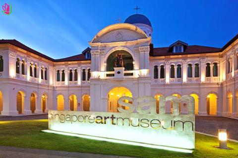 KHÁM PHÁ BẢO TÀNG NGHỆ THUẬT SINGAPORE - SINGAPORE ART MUSEUM