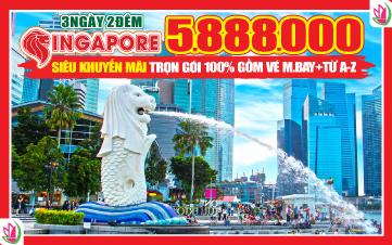 Chương Trình Du lịch Singapore 3N2Đ - Ưu Đãi Đặc Biệt