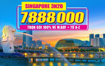Tour Singapore 3N2Đ - Đồng Thương Hiệu GROUPTOURVN