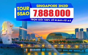 Du Lịch Singapore 4sao 3N2Đ Khởi hành từ Đà Nẵng