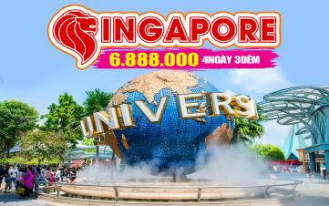 Du Lịch Singapore 4Sao Hà Nội - 4N3Đ
