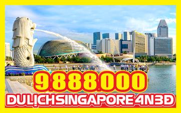 Tour du Lịch Singapore 4Sao | Garden By The Bay | Marina Bay Sands | Jurong Bird Park | Đảo Sentosa | 4N3Đ