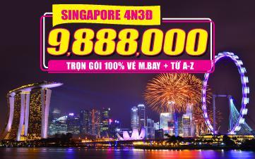Tour Singapore 4N3Đ -  Đồng Thương Hiệu GROUPTOURVN