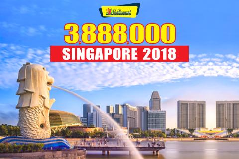 Khám phá Singapore 3 ngày 2 đêm chỉ với 3tr888 dành cho người trẻ năng động