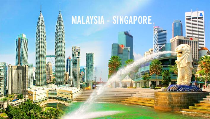 DU LỊCH MALAYSIA + SINGAPORE  5 Ngày 4 Đêm