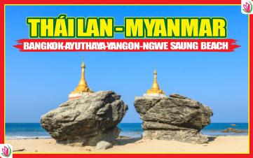 Du Lịch Liên Tuyến Thái Lan - Myanmar