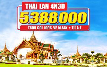 Tour Thái Lan 4N3Đ  Đồng Thương hiệu GROUPTOURVN