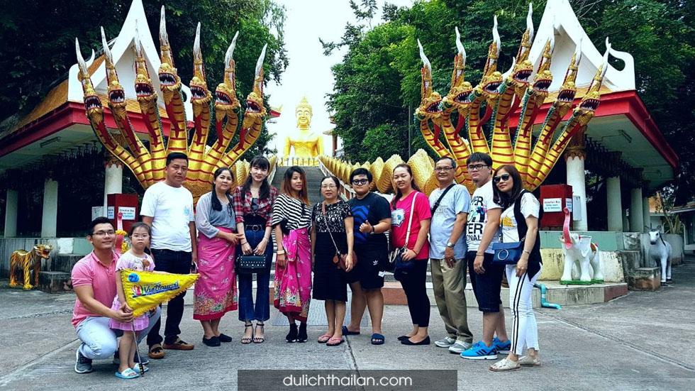 Chùa Wat Phra Yai Thái Lan