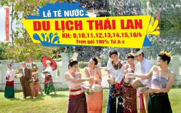 Du Lịch Thái Lan 5N4Đ - Lễ Té Nước
