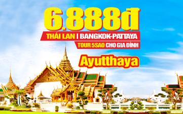 Du lịch Thái Lan 5sao 4N3Đ Khởi hành từ Hà Nội | Bangkok | Pattaya