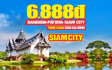 Du lịch Thái Lan 5sao 4N3Đ Khởi hành Hà Nội | Bangkok | Pattaya