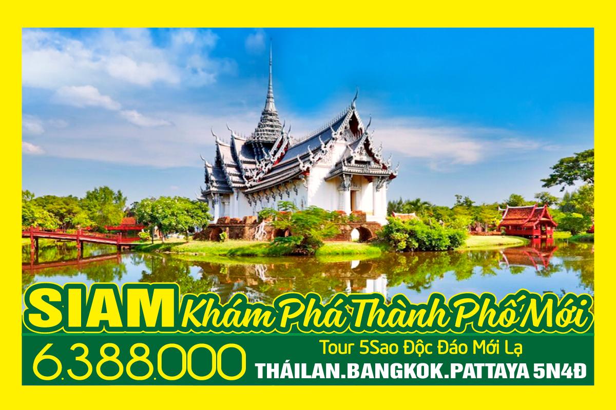 Đăt tour Du lịch Thái Lan 5Sao giá rẻ nhất thị trường. Khám phá Bangkok, Pattaya, Huyền thoại Ayutthaya, 5 Ngày 4 Đêm Khách sạn 5sao. Tour khởi hành hàng ngày trên toàn Quốc luôn có tour vào dịp Lễ, Tết, Hè. Tổng đài du lịch: 19001868 - 0909886688 - Khiếu nại: 0908886688 WEB/FACEBOOK dulichthailan.com