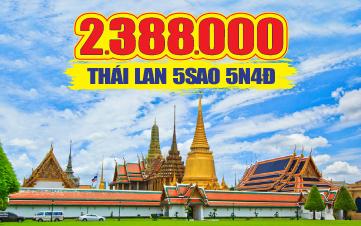 Du Lịch Thái Lan 5Sao  Bangkok | Pattaya | Ayutthaya 5N4Đ từ Hà Nội