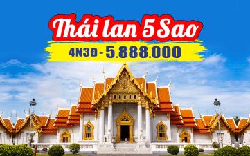 Du Lịch Thái Lan 5Sao Bangkok | Pattaya 4N3Đ từ HÀ NỘI