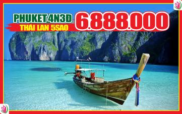 Du lịch Thái Lan thiên đường Phuket | đảo Phi Phi | vịnh Phang Nga