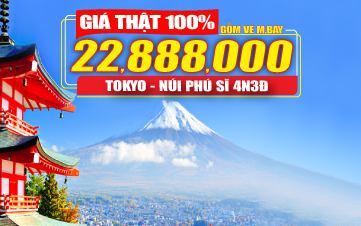 Tour Nhật Bản 4Sao Tokyo | Núi Phú Sĩ - Đồng Thương Hiệu GROUPTOURVN