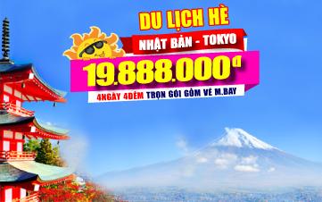 Du lịch Nhật Bản - Tokyo 4N4Đ
