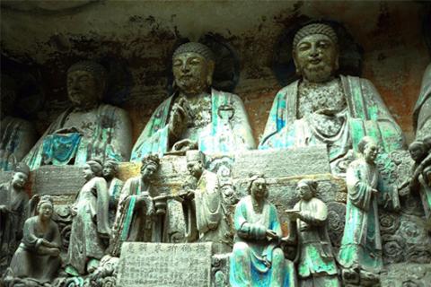 Di sản văn hóa thế giới - Tượng khắc đá Đại Túc, Trùng Khánh, Trung Quốc