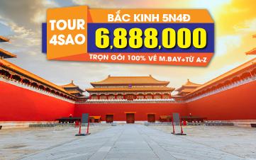 Du lịch Trung Hoa 5N4Đ trọn gói 6tr888 Bắc Kinh | Vạn Lý Trường Thành