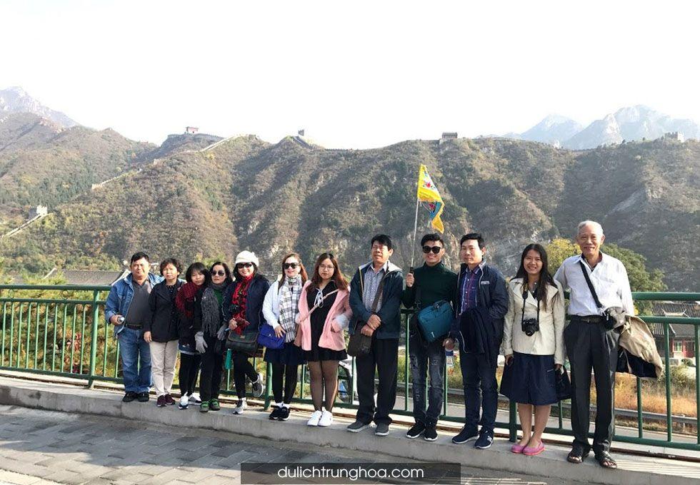 du lịch Trung Quốc Bắc Kinh Vạn Lý Trường Thành