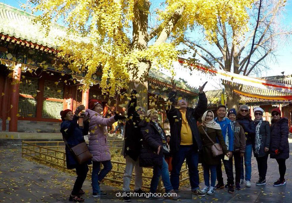 du lịch Bắc Kinh Phủ Hòa Thân