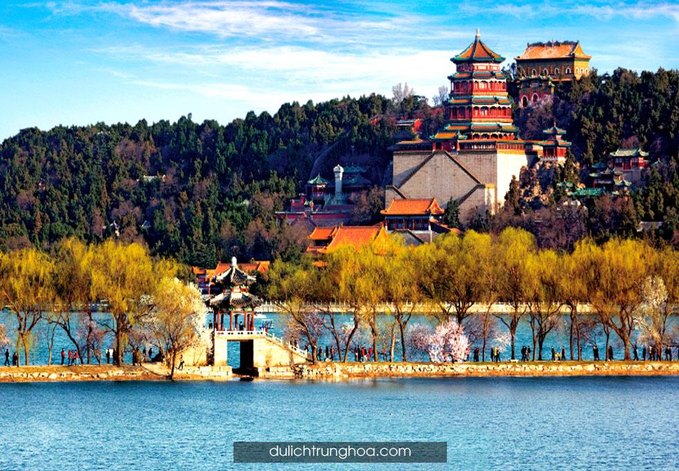 du lịch Trung Hoa di hoa viên