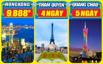 DU LỊCH HONGKONG - TRUNG QUỐC