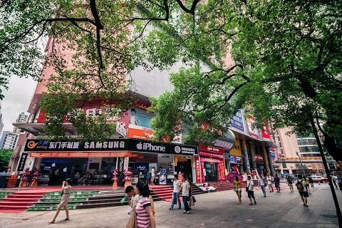 Mua sắm thả ga tại khu thương mại Đông Môn Thẩm Quyến