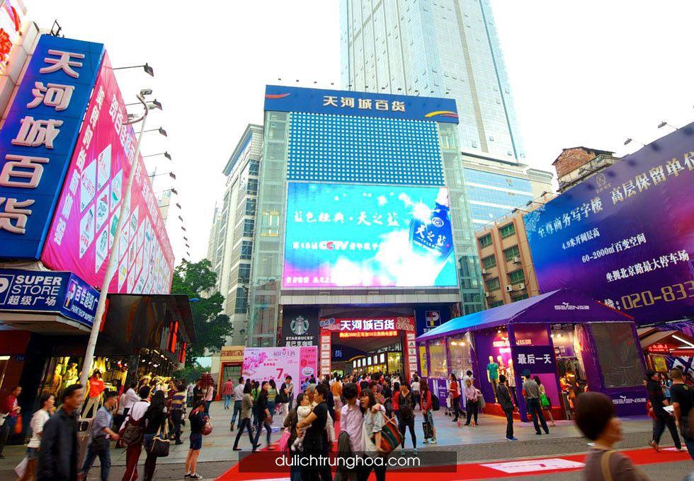 du lịch Trương Gia Giới - Quảng Châu
