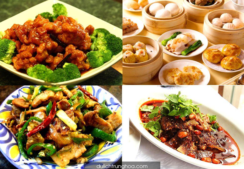 du lịch Trương Gia Giới ẩm thực