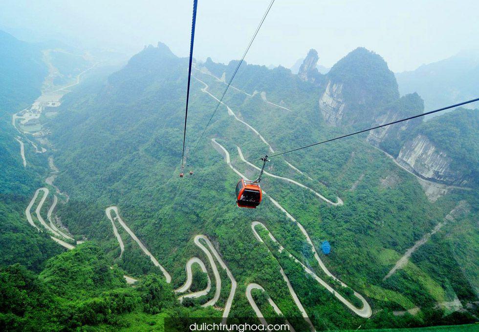 du lịch Trương Gia Giới Thiên Môn Động