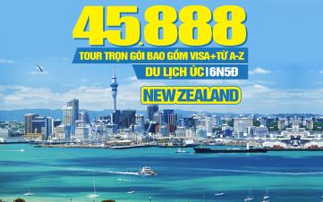 Tour du lịch Úc | New Zealand | Auckland | Rotorua | Hamilton | 6N5Đ KH Đà Nẵng